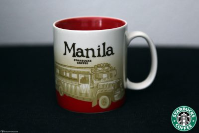 Starbucks Global Icon City Mug from Manila