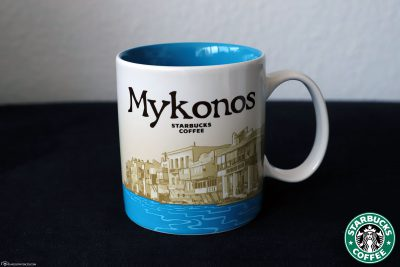 The Starbucks Island Cup of Mykonos