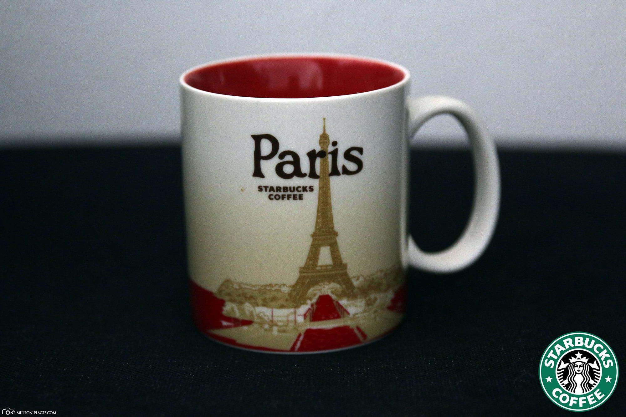 Paris, Starbucks Tasse, Global Icon Serie, City Mugs, Sammlung, Frankreich, Reisebericht