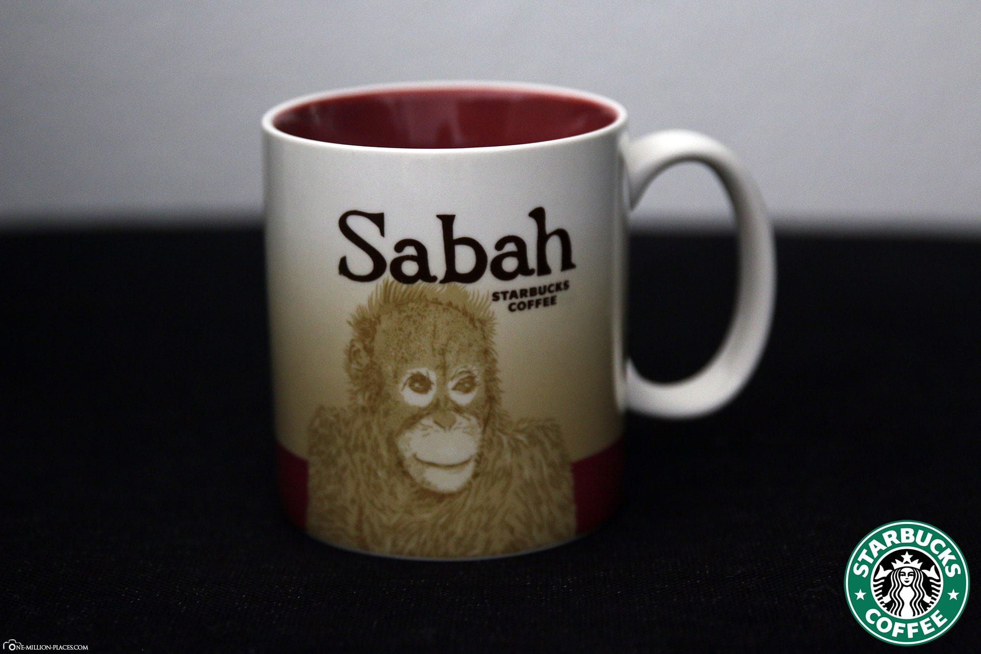 Sabah, Starbucks Cup, Global Icon Series, City Mugs, Collection, Malasia, Travelreport