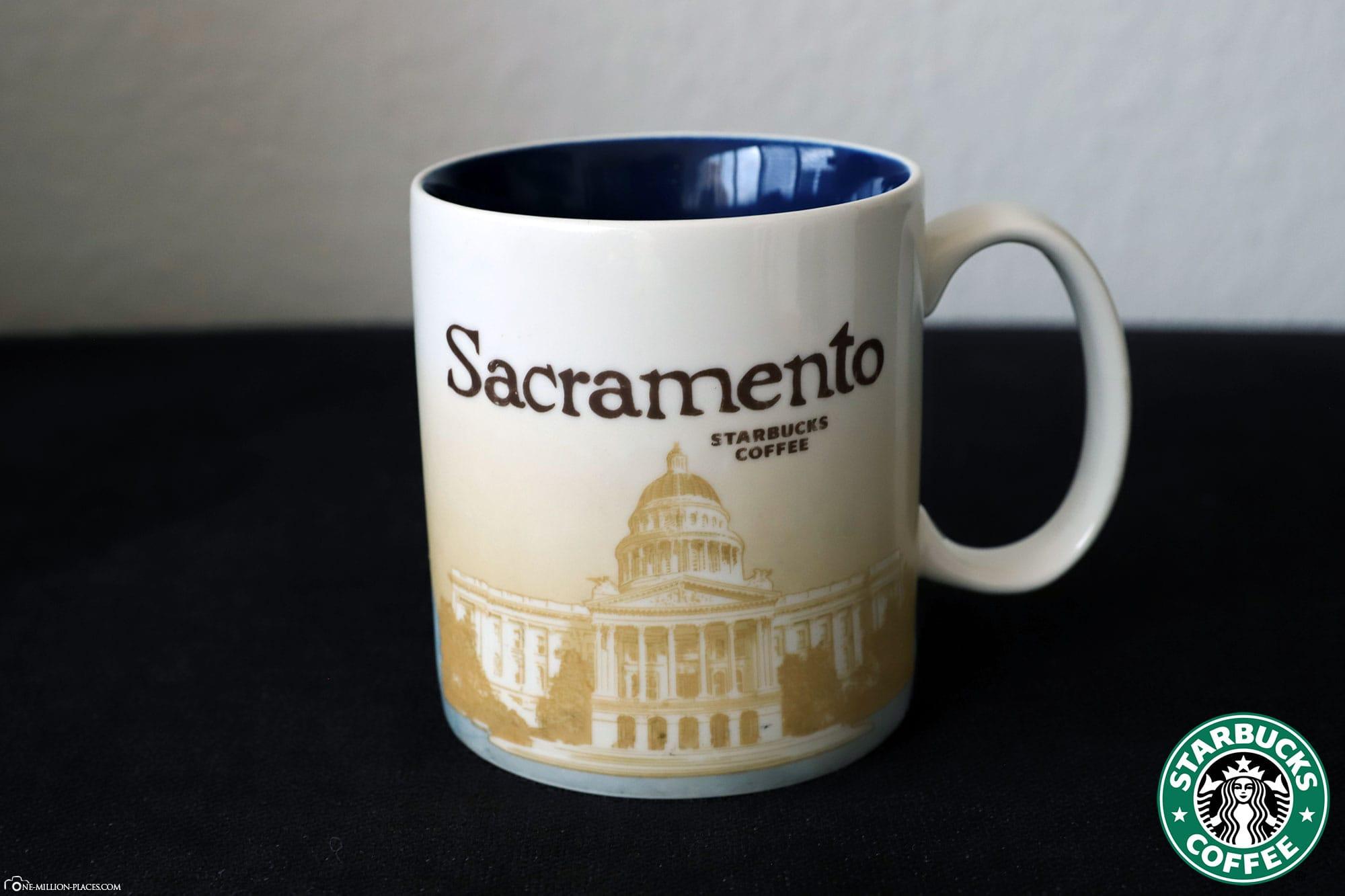Sacramento, Starbucks Cup, Global Icon Series, City Mugs, Collection, USA, Travelreport