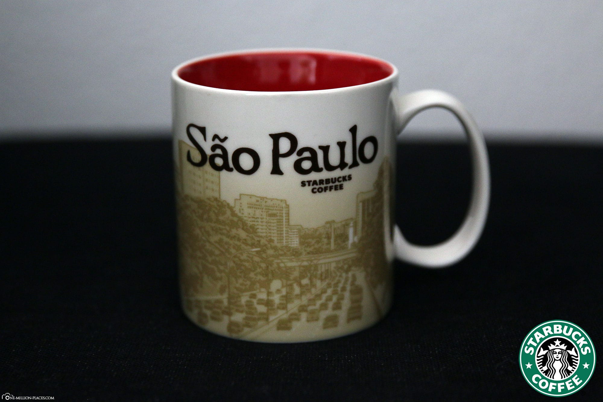 Sao Paulo, Starbucks Tasse, Global Icon Serie, City Mugs, Sammlung, Brasilien, Reisebericht