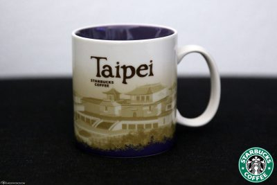 Starbucks Global Icon City Mug of Taipeh