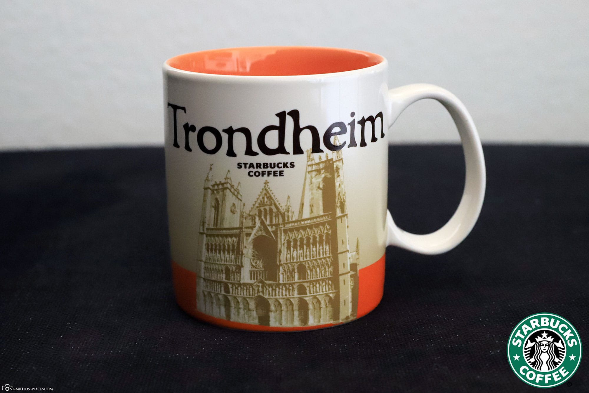 Trondheim, Starbucks Tasse, Global Icon Serie, City Mugs, Sammlung, Norwegen, Reisebericht