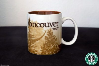 Die Starbucks Städtetasse von Vancouver