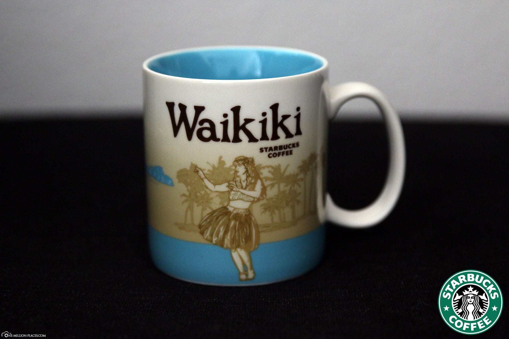 Waikiki, Starbucks Tasse, Global Icon Serie, City Mugs, Sammlung, Hawaii, Reisebericht