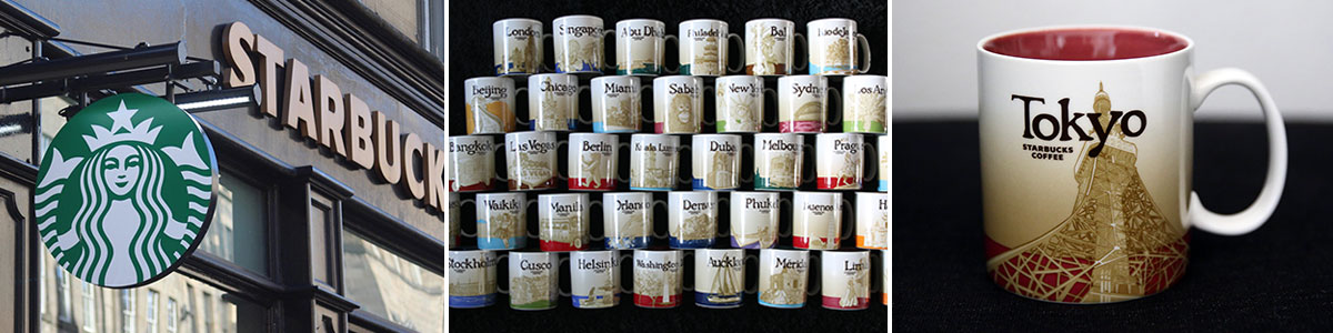 Starbucks City Mugs Collection Headerbild