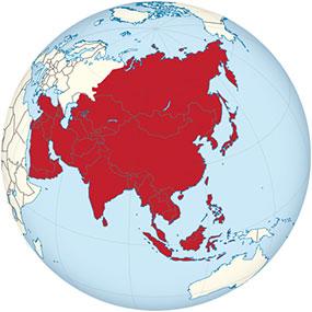 Asien Globe