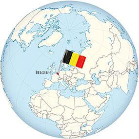 Belgium Globe
