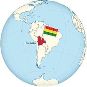 Bolivien Globe