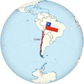 Chile Globe