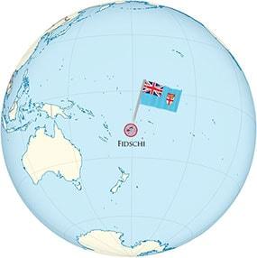 Fidschi Globe