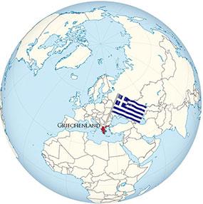 Griechenland Globe