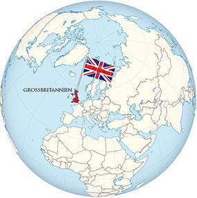Großbritannien Globe