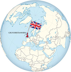 Great Britain Globe