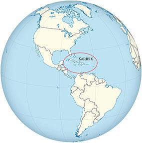 Karibik Globe