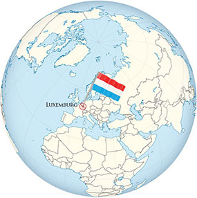 Luxemburg Globe