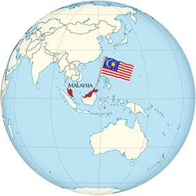 Malaysia Globe