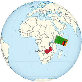 Zambia Globe