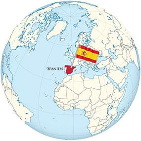Spanien Globe