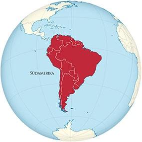 Südamerika Globe