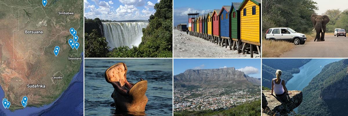 Unsere Reiseberichte vom Südafrika