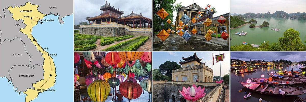 Route Reiseberichte Vietnam