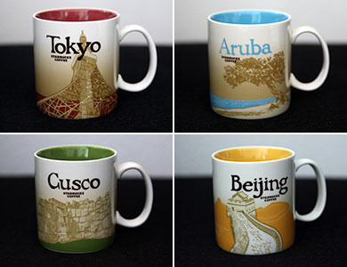 Starbucks - Our Global Icon Series Cup Collection